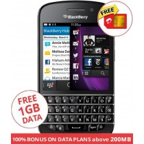 BLACKBERRY Q10 PHONE BLACK
