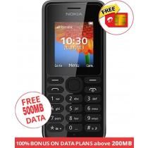 NOKIA 108 PHONE DUAL SIM BLACK