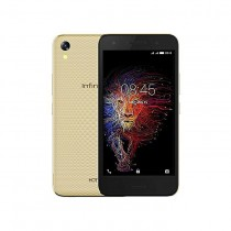 Infinix Hot 5 Lite (X559) 5.5-Inch HD (1GB, 16GB ROM) Android 7, 8MP + 5MP Dual SIM 3G Smartphone - Luxurious Gold